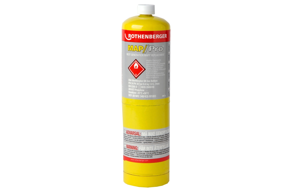 Rothenberger MAP-PRO Gas Cylinder 399.7g