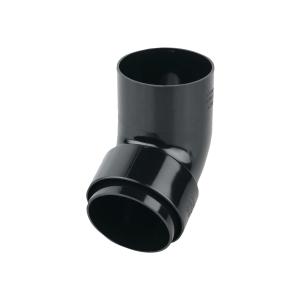 Osma RoundLine 0T026 Offset Bend Spigot 68mm Black