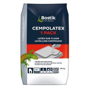 Cementone Cempolatex One-pack Sub Floor Latex Levelling Floor Compound 25kg