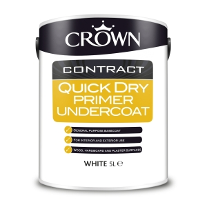 Crown Contract Crown Quick Dry Primer Undercoat 5L