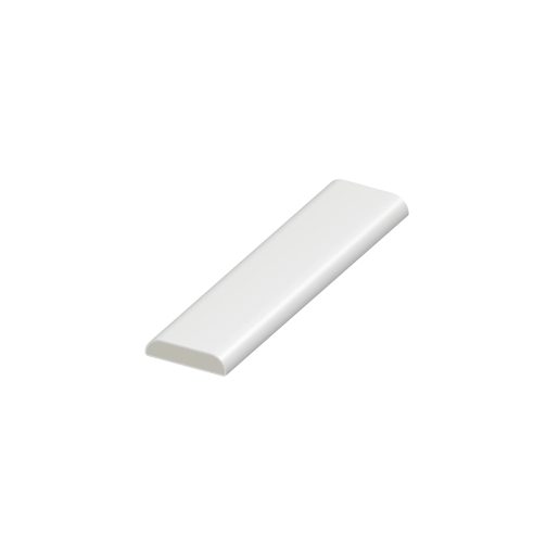 Eurocell Window Trim Upvc Dee Mould 25mm 5m White