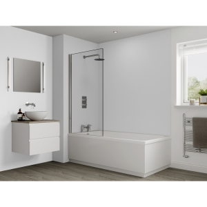 Multipanel Classic Bathroom Wall Panel Hydrolock Natural White G85