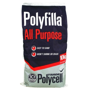 Polycell Polyfilla All Purpose Trade Powder Filler - 10kg