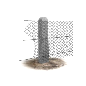 Supreme Concrete Chainlink Intermediate Post 4ft 9in CHK145I - Pack of 36