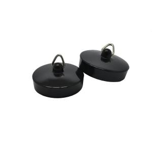 4Trade 1-3/4in Black Bath/Sink Plugs