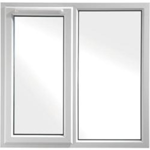 Euramax White Upvc Casement Window 2P Left Side Hung 1190 x 1190mm