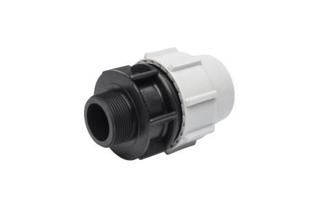 Plasson Mechanical Male Adaptor 25 mm x 3/4 inch 7020D20