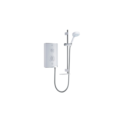 Mira Sport Multi-Fit Electric Shower 9.0kw in White/Chrome 1.1746.009