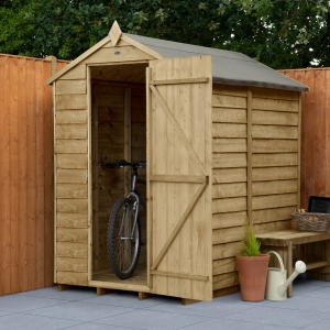 Overlap Pressure Treated Apex Shed No Windows