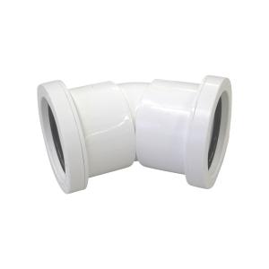 Osma 40mm Pushfit Waste White Bend 45 Deg