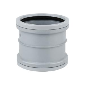 OsmaSoil 4S105G 110mm Ring-Seal Repair Coupler Grey