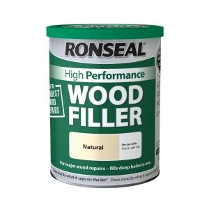 Ronseal 35302 Performance Wood Filler Natural 1kg