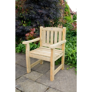 Rosedene Chair Pressure Treated 600 x 900 x 640mm