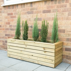 Forest Garden Linear Long Planter 120 x 40