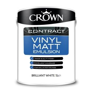 Crown Contract Crown Vinyl Matt Brilliant White 5L
