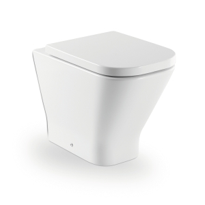 Roca the Gap Comfort Height Back to Wall Toilet Pan