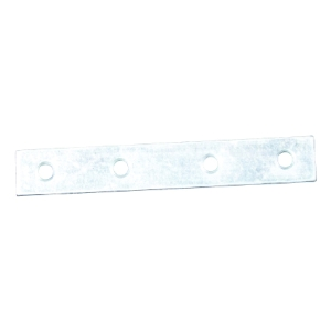 4Trade Mending Plates Zinc Plated Pack of 4 100mm