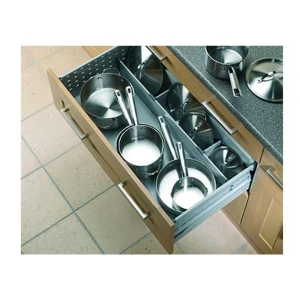 Blum Pan Drawer Provisions Divider Grey 500