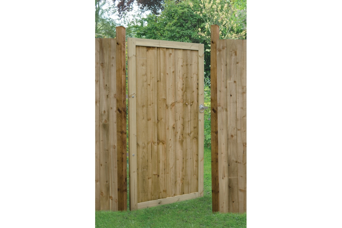 Forest Garden Pressure Treated Featheredge Gate 1800mm x 920mm