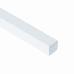 Eurocell Window Trim Upvc 17.5mm Large Quadrant White