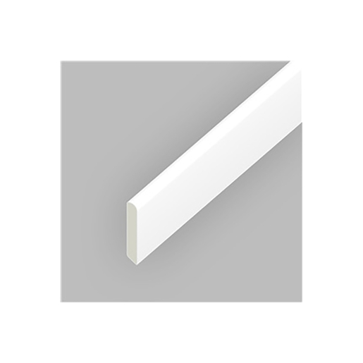 Eurocell Window Trim Upvc 20mm Cloaking Fillet White