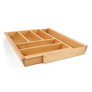 Extendable Ash Cutlery Tray 400-600 mm 556.98.601
