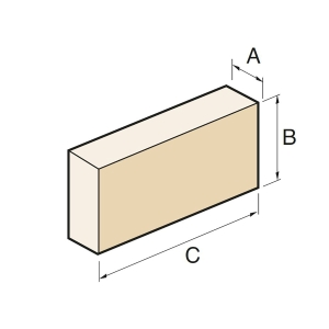 Supreme A1/PD Ashlar Block A1 Portland 440 x 100 x 215mm