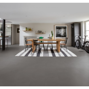Quick Step Luxury Vinyl Tile Ambient Minimal Medium Grey 1300 x 320 x 4.5mm Pack Size 2.08m2