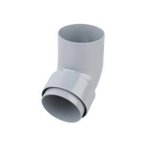 Osma RoundLine 0T026 Offset Bend Spigot 68mm Grey