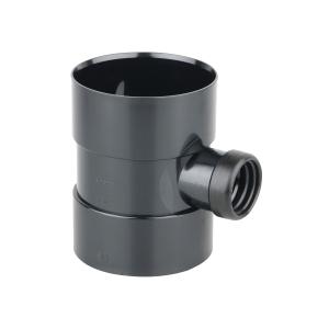 Osmasoil Bossed Pipe Black 110mm