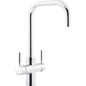 Abode Protex 3 in 1 Steaming Water Monobloc Kitchen Mixer Tap Chrome