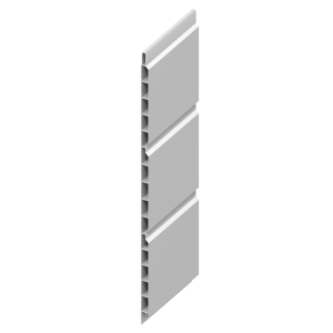 Eurocell Roofline Profile Upvc Hollow Soffit Board 9 X 300mm 5m White