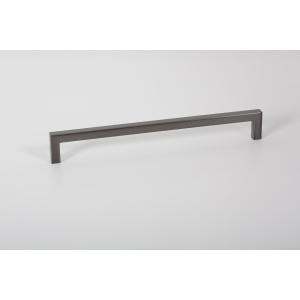 U Pull Handle Brushed Grey 192mm