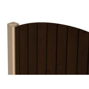 Supreme Concrete Fence Post Slotted End 109mm x 94mm x 2440mm SLT244E