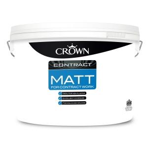 Crown Contract Matt Brilliant White 10L