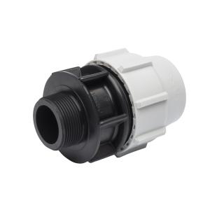 Plasson Mechanical Male Adaptor 20 mm x 1/2 inch 7020C10