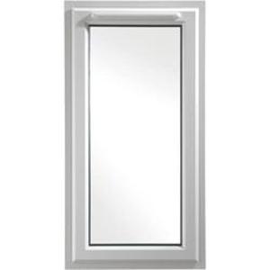 Euramax White Upvc Casement Window 1P Left Side Hung 610 x 1190mm