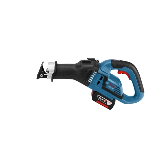 Bosch Gsa 18V-32 18V 32mm Sabre Saw with 2 x 5.0AH Batteries and Charger in A L-BOXX