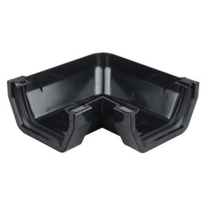Osma SquareLine 4T803 Gutter Angle 90° 100mm Black