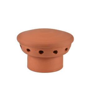 Hepworth Terracotta Ventilation Terminal Flue Vent Red 180mm