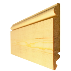 Skirting Board Timber Torus/Ogee Best Pattern 400 25mm x 125mm - Finished Size 20mm x 119mm