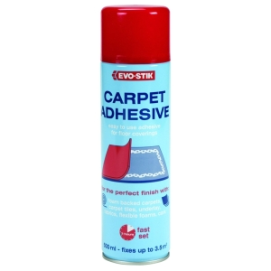 Evo-Stik Carpet Spray Adhesive 500ml - Carton of 6