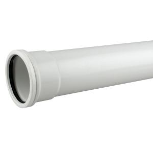 OsmaSoil 4S043W 110mm Socketed Pipe White 3M