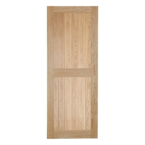 Bead & Butt Select Rustic Framed Ledged Oak Door