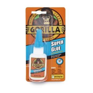 Gorilla Super Glue 15g Clear