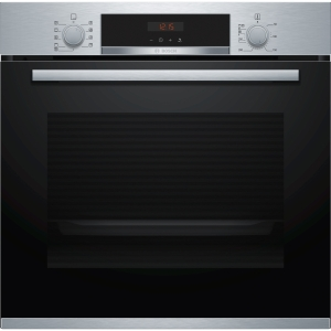 Bosch Serie 4 Integrated Single Pyrolytic Oven Stainless Steel - HBS573BS0B
