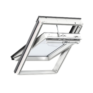 Velux INTEGRA® Solar Roof Window 660 x 978mm White Polyurethane Ggu FK04 007030