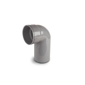 Osmasoil PVC-U Long Tail Bend 90 Degree Grey 110mm SW/S 4S260g