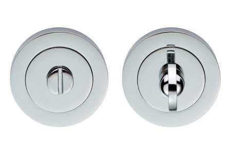 Carlisle Brass Turn & Release On Concealed Fix Round Rose Polished Chrome