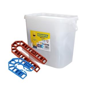 Broadfix U Shims Assorted Size & Thickness Tub of 300